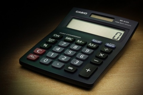 calculator-the-calculation-of-casio-zero-money