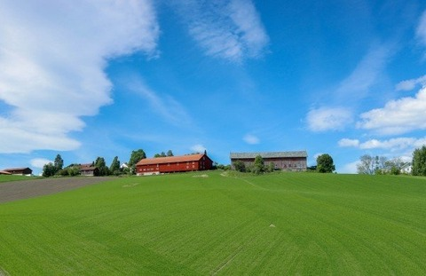 the-scenery-views-blue-sky-grassland-norway