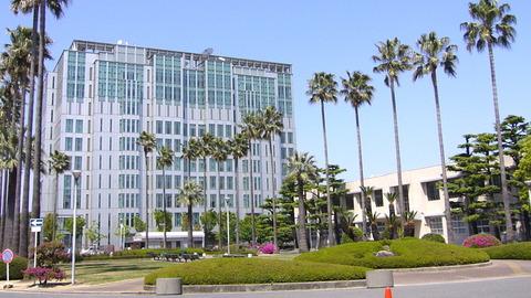 大阪市立大学学術情報総合センターと旧図書館