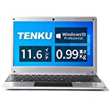 TENKU ノートパソコン Comfortbook S11 軽量1Kg Windows 10 Pro搭載(CerelonN3350/4GB/64GB/11.6型IPS Full HD液晶/USB Type-C搭載) (シルバー)